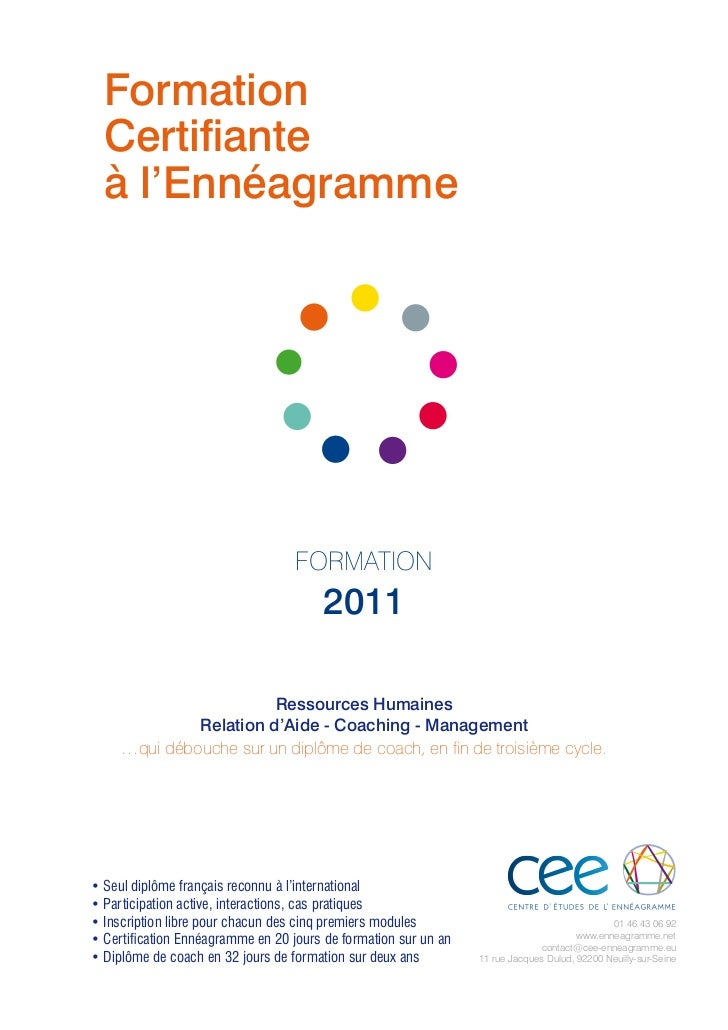 Calendrier formation-2011-cee