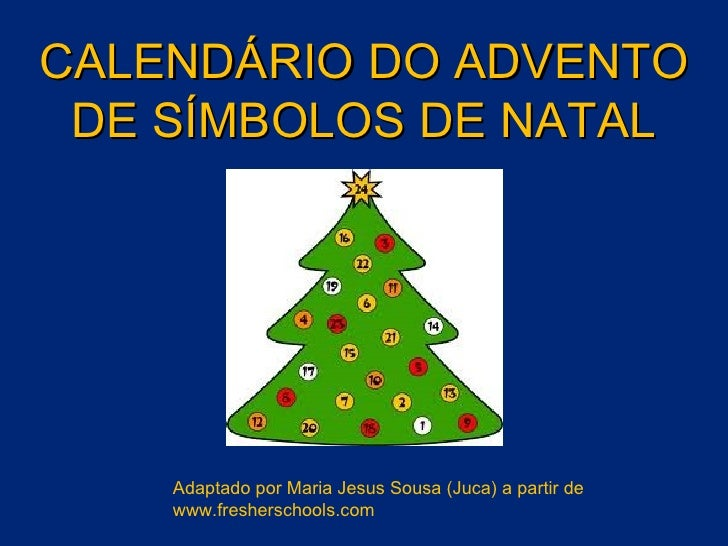 Calendário do Advento interactivo