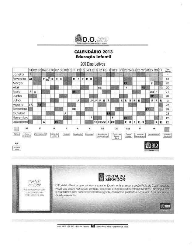 Calendário escolar 2013   pse - cap 3.3