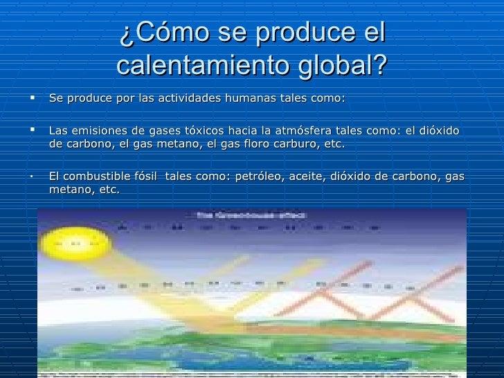 Calentamiento global for Como se forma el marmol