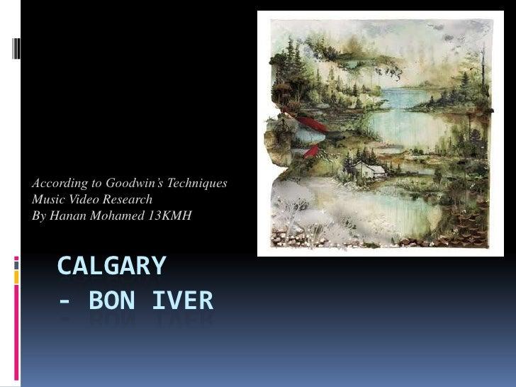 Calgary   bon iver