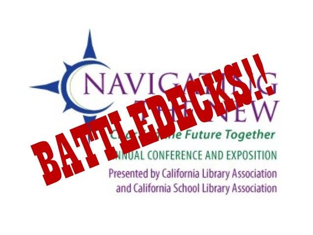 #Calibconf Battledecks - Andrew Carlos