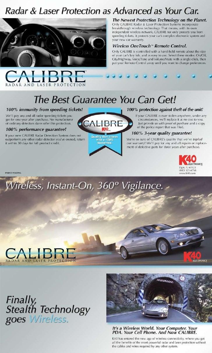 Calibre Brochure