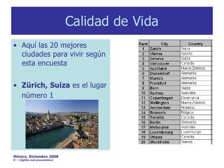 Calidad de vida - Ciudades con mejor calidad de vida en espana ...