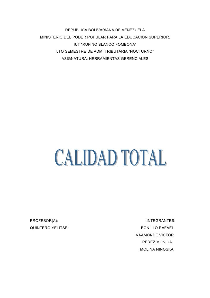 "REPUBLICA BOLIVARIANA DE VENEZUELA     MINISTERIO DEL PODER POPULAR PARA LA EDUCACION SUPERIOR.                     IUT ""R..."