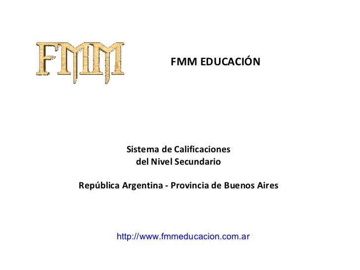 Calificaciones Secundaria