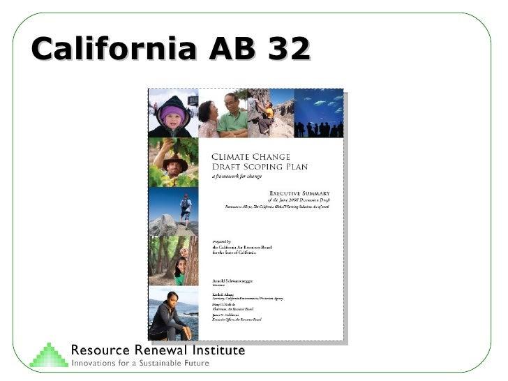 California AB 32