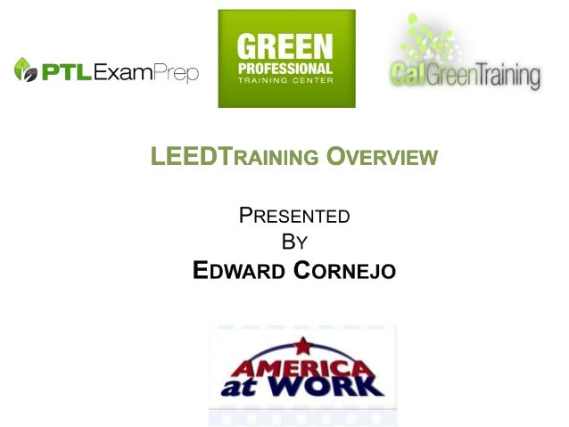 A recent USGBC study suggests that over 7.9 million jobs will be created 2013 to support LEED & Green Building 2