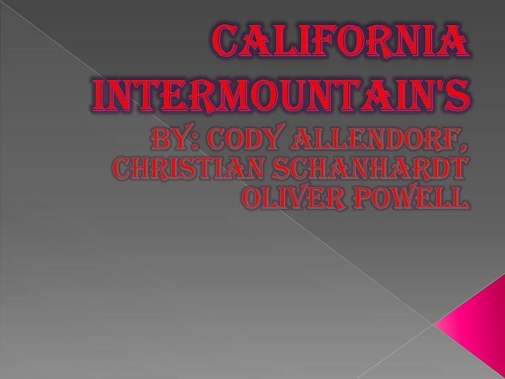 California Intermountain1