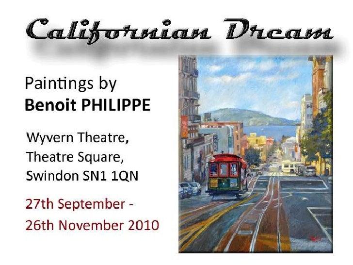 Californian dream exhibition