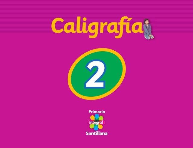 Caligrafia 2-primaria-integral
