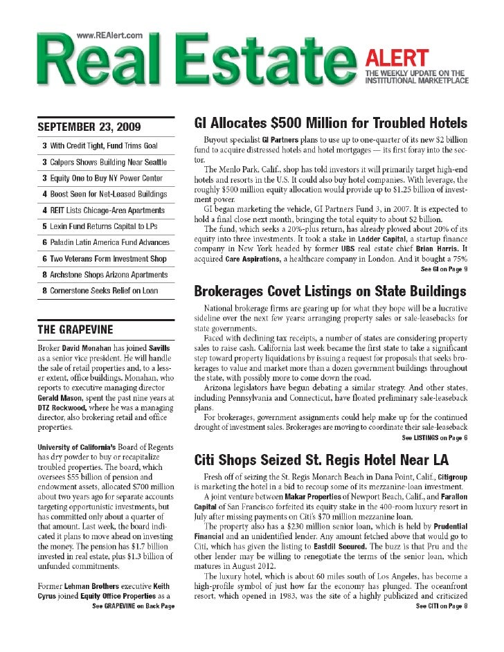 Calkain Companies, Inc. featured in Real Estate ALERT!