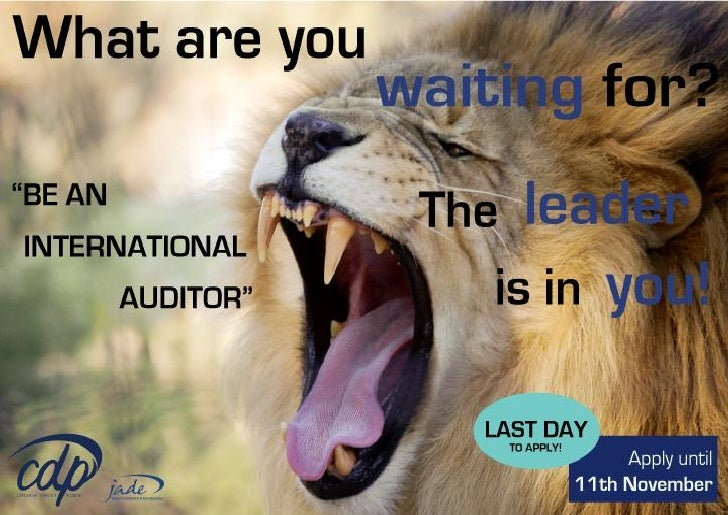 Last day to apply!