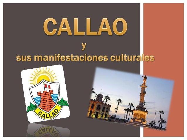 Provincia Constitucional del Callao, es una ciudad situada en el centro-oeste del Perú , en la costa central del litoral ...
