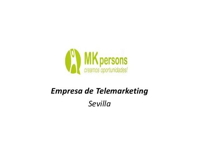 Empresa de Telemarketing Sevilla