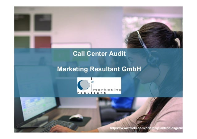 https://www.flickr.com/photos/plantronicsgermany/ Call Center Audit Marketing Resultant GmbH