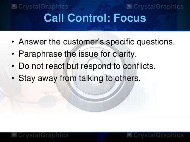how to avoid calls in a call center