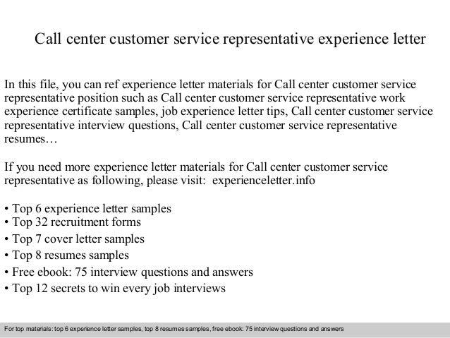 Essay on customer service representative