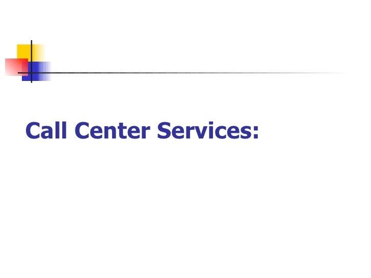 Call Center Business Plan Pdf