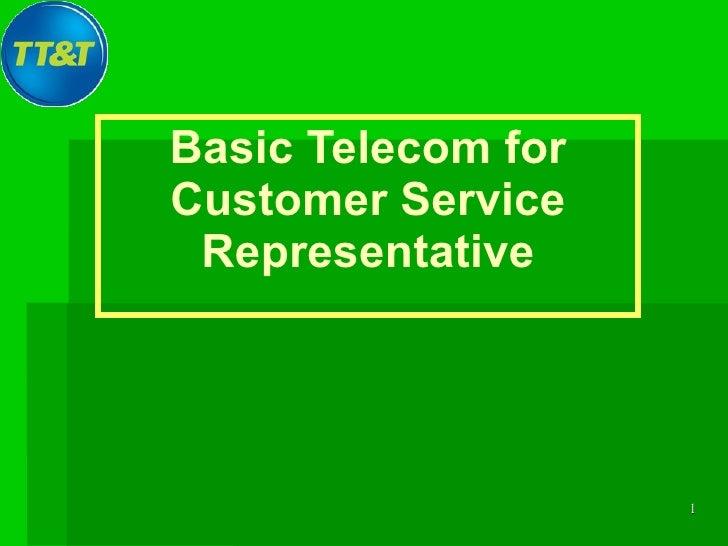 พื้นฐานโครงข่ายสำหรับ Call Center Staffs
