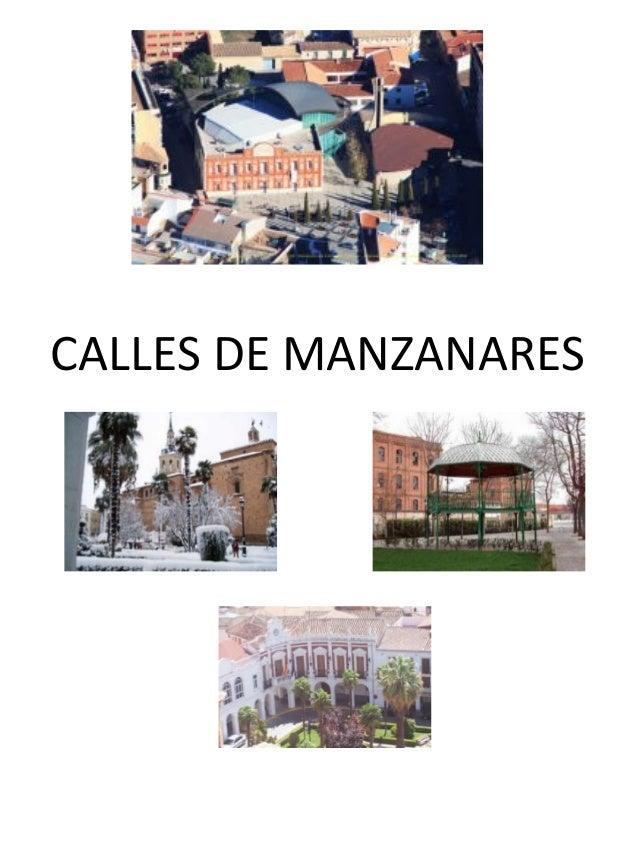 CALLES DE MANZANARES