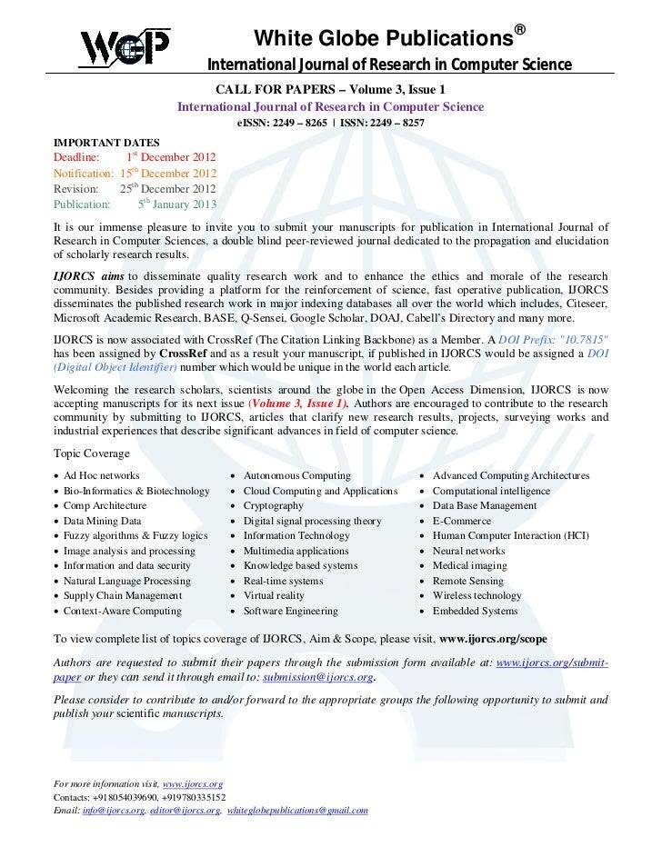 ®                                                 White Globe Publications                                    Internationa...
