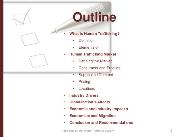 Human Trafficking Outline