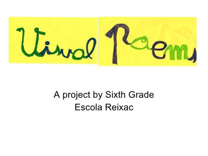 A project by Sixth Grade Escola Reixac