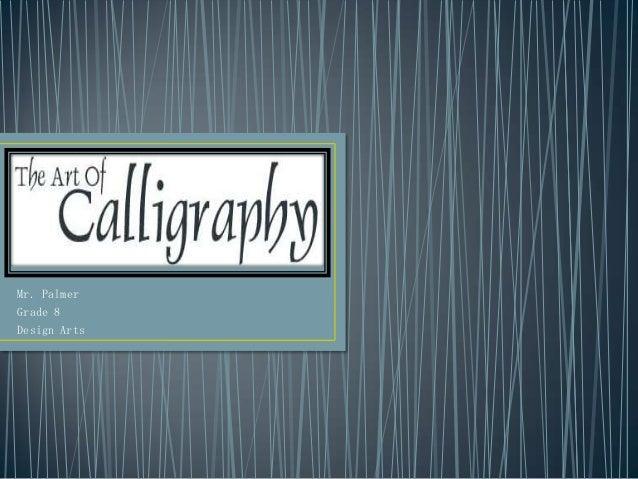 Mr. PalmerGrade 8Design Arts
