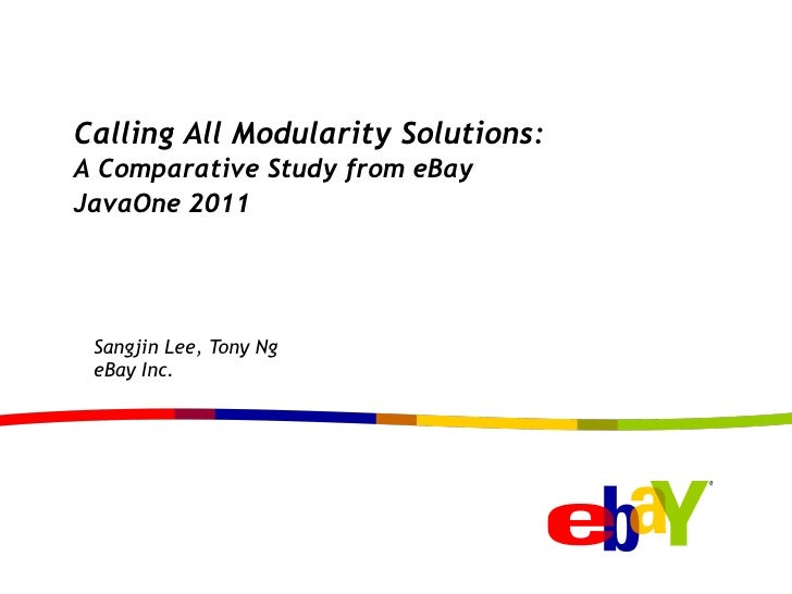 Calling all modularity solutions