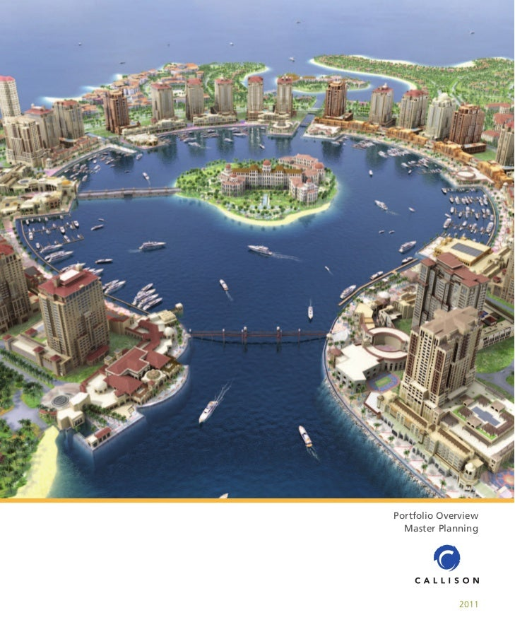 Portfolio Overview  Master Planning             2011