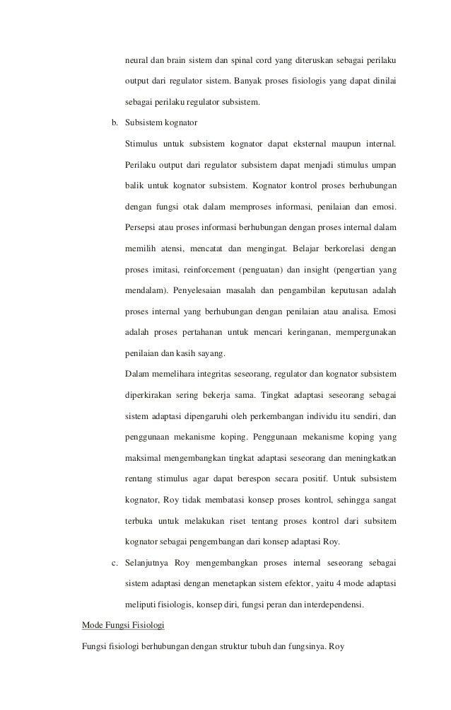 1. KONSEP DASAR KEPERAWATAN TEORI DAN MODEL KEPERAWATAN ...