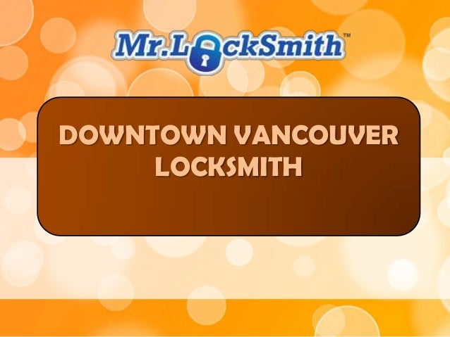 DOWNTOWN VANCOUVER LOCKSMITH