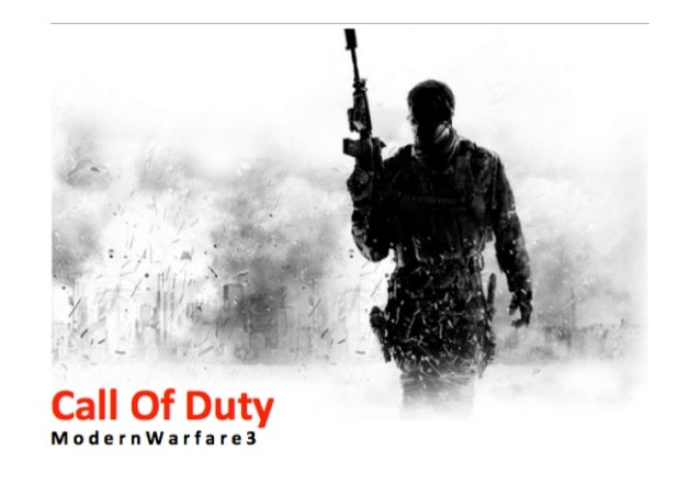 What	  Is	  It?	  •  Modern	  Warfare	  3	  is	  a	  1st	  person	  shooter	  game	     created	  by	  Infinity	  Ward	  an...