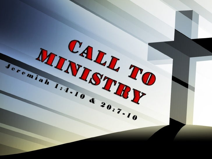 Two Perspectives:2.Everyone is called to ministry.
