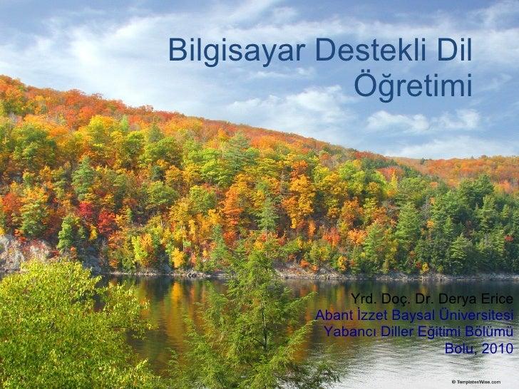 CALL Dil Eğitimi- Türkçe