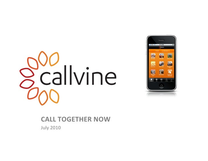 Callvine short overview_-_july 2010