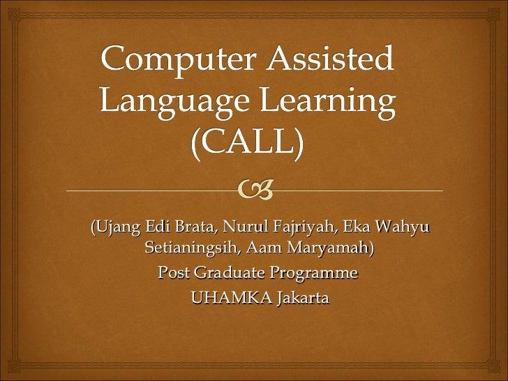 (Ujang Edi Brata, Nurul Fajriyah, Eka  Wahyu Setianingsih, Aam Maryamah ) Post Graduate Programme  UHAMKA Jakarta