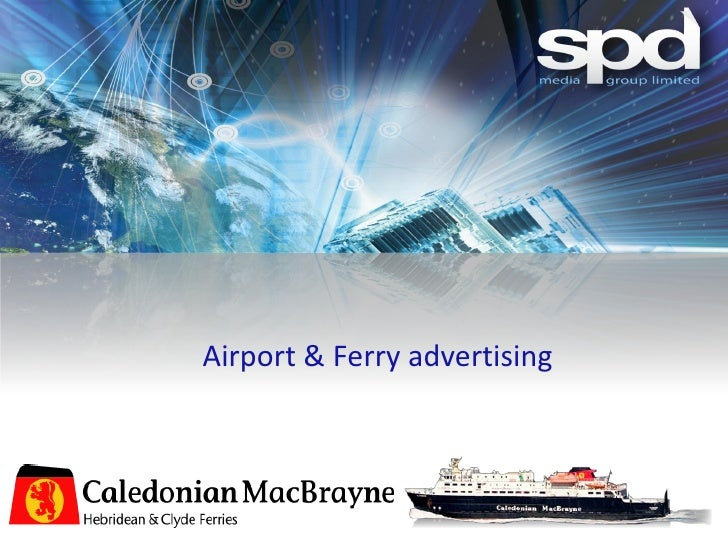 Airport & Ferry advertising