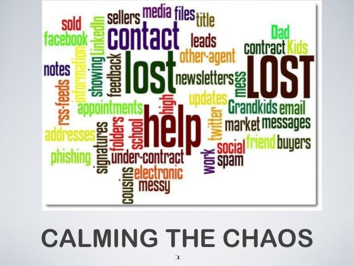 Calming the Chaos Using Gmail