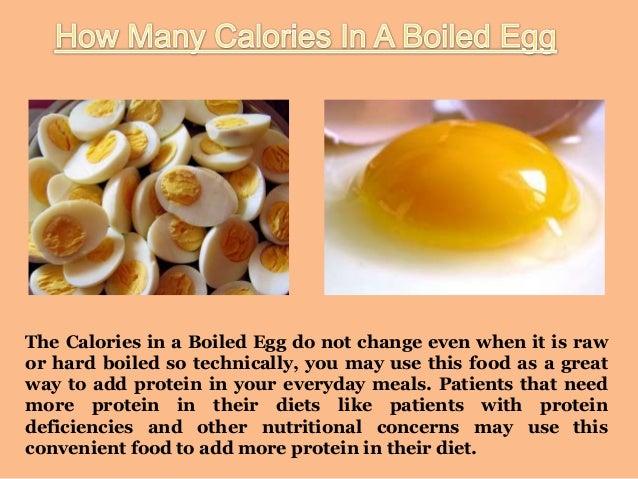calories per egg
