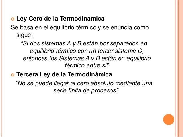 Equilibrio Termico Formula en el Equilibrio t Rmico y