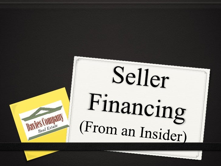 Know anyone who has    completed a seller-finance          transaction?  In SLO County, as reported to our MultipleListing...