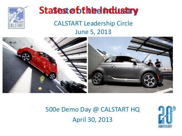 CALSTART Presentation - Boesel