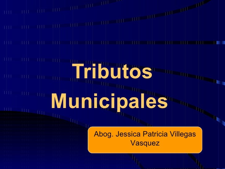 Caltributosmunicipales, 05 07-12