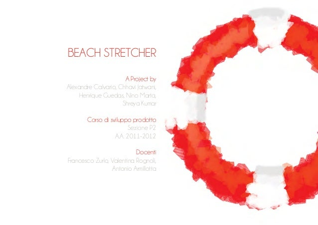 Beach stretcher