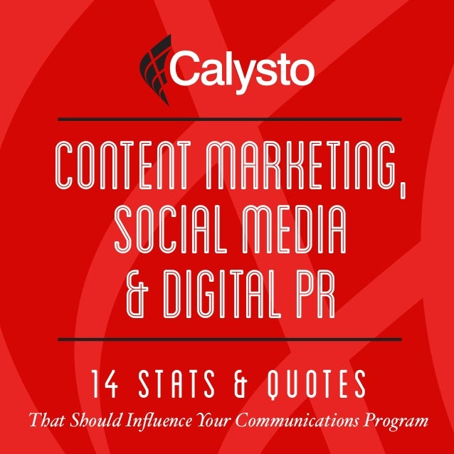 14 Stats & Quotes That Should Influence Your Communications Program