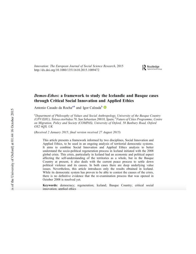 Science research abstract