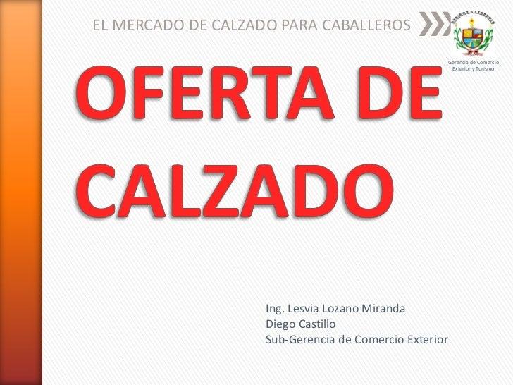Exportacion de Calzado Peruano