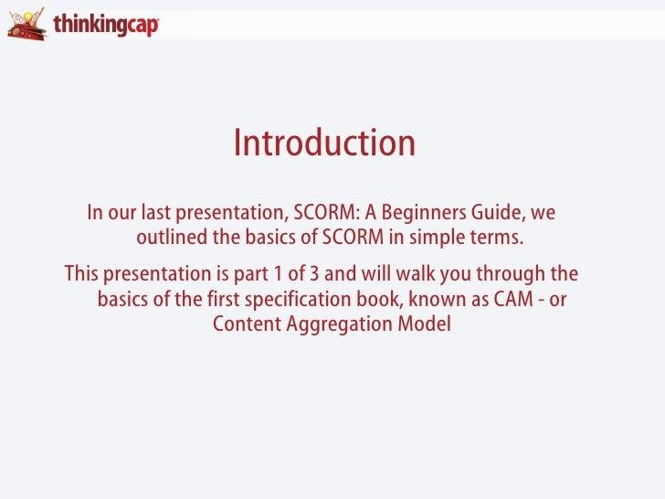 SCORM - Content Aggregation Model: The Breakdown pt.1
